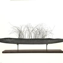Traversée I, 2016, 50cm plomb ,fil de fer
